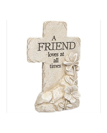 Friend Pedestal Cross