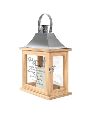 Serenity Prayer Memorial Lantern Gifts