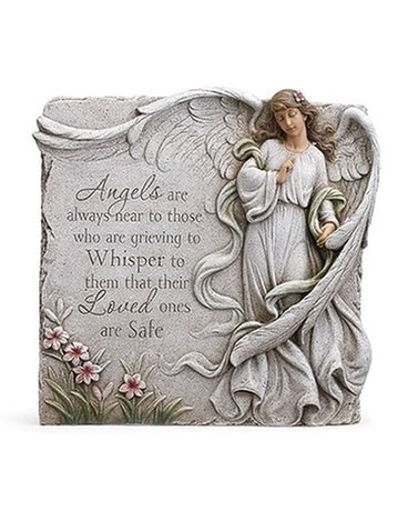 Angels Plaque Flower Arrangement