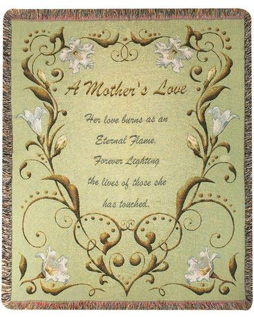 Tapestry Throw - A Mother's Love Gifts