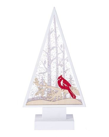 LED Light Up Cardinal on Tree Branch Gifts