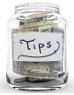 Tip Jar for Drivers