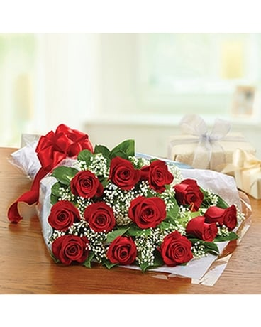12 RED ROSES PRESENTATION BOUQUET Bouquet