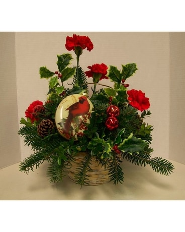 Deck The Halls Flower Arrangement