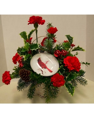 Deck The Halls Deluxe Flower Arrangement
