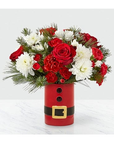 FTD Let's Be Jolly Flower Arrangement