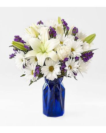 FTD BEYOND BLUE Flower Arrangement