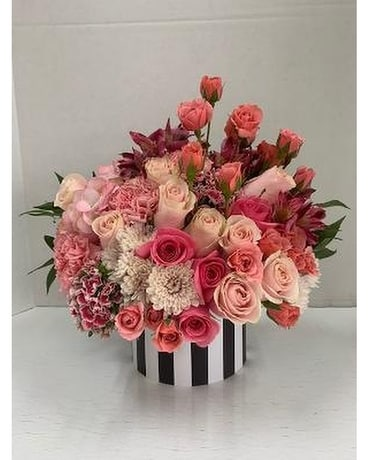 Pretty Sweet Pink Flower Arrangement