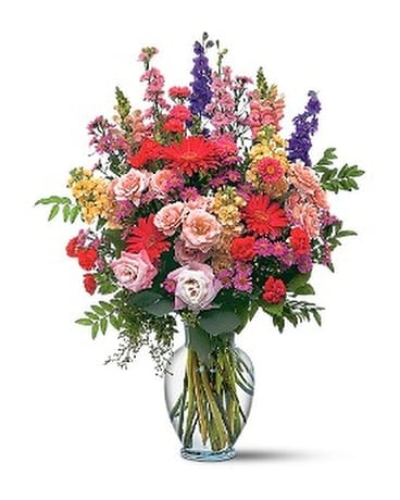 Sunshine and Smiles-Premium Flower Arrangement