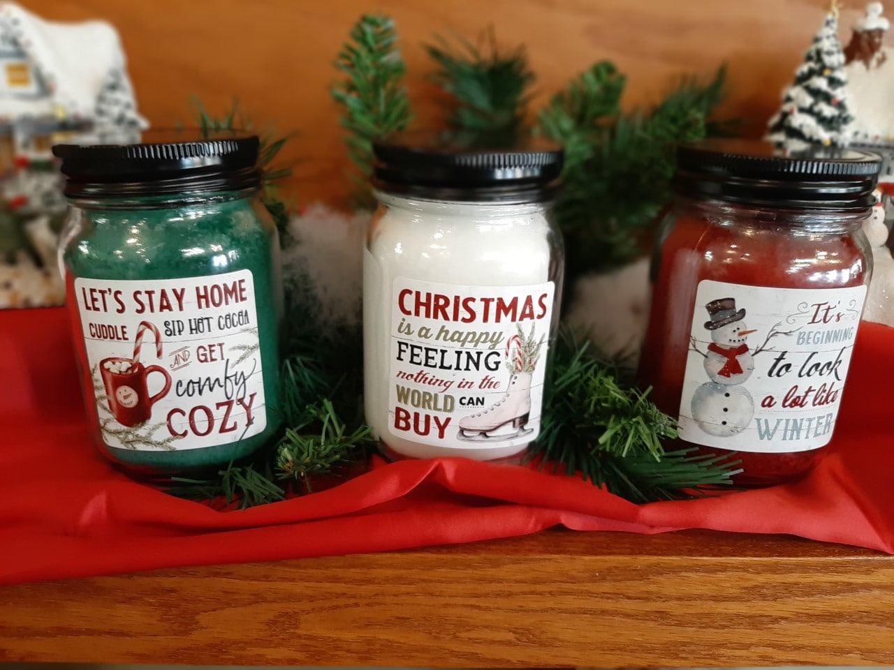 Christmas Candles - Vintage