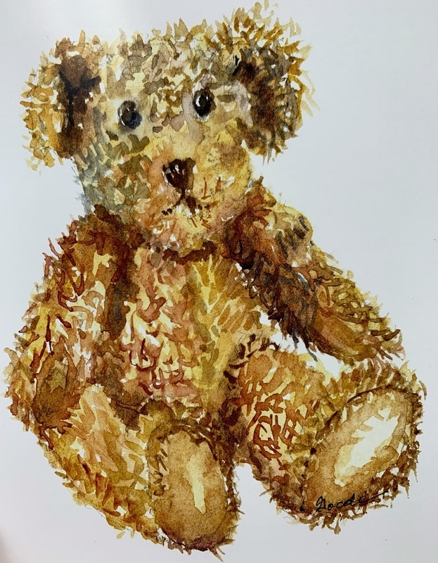 Honey Bear Card by Lori