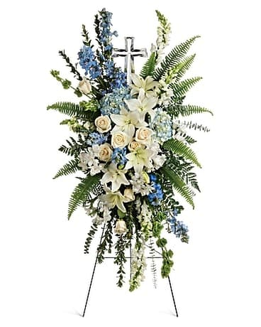 Teleflora's Eternal Grace Spray Flower Arrangement