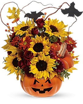 Fall flower designs florist palm springs flower delivery palm spooktacular mightylinksfo