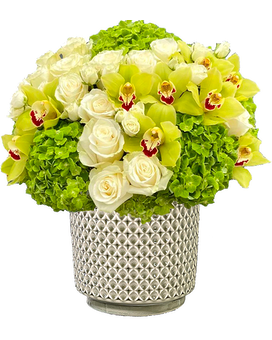 Modern Lines Flower Arrangement