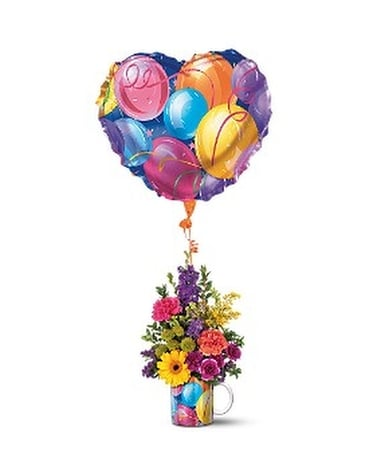 Teleflora's Hip Hip Hooray Bouquet Flower Arrangement