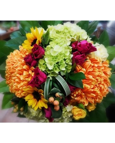 Fall Handtied Bouquet