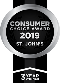 Consumer Choice Award 2019 St. John's