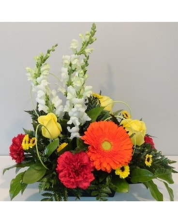 Bright Pleasures Flower Arrangement