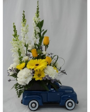 Boys & Toys Bouquet Flower Arrangement