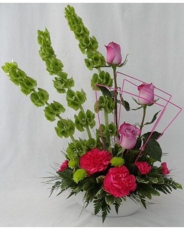 Elegant Jewel Flower Arrangement