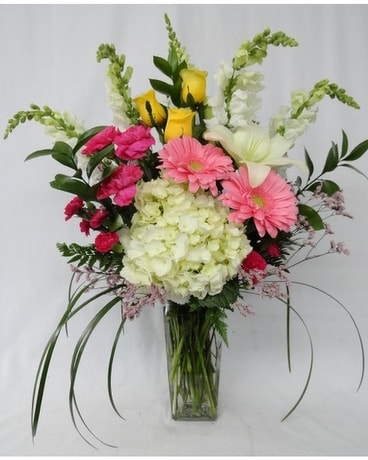 Summer Elegance Flower Arrangement