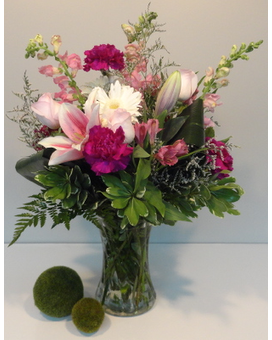 Glamorous Blooms Flower Arrangement