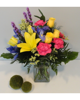 Dazzling Sunshine Flower Arrangement