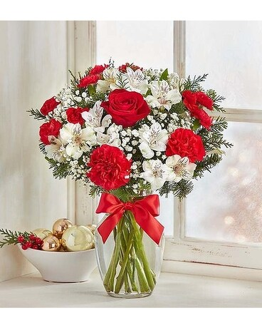 Fields of Europe Christmas Flower Arrangement
