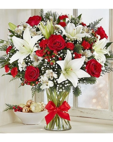 Christmas fields of europe Flower Arrangement