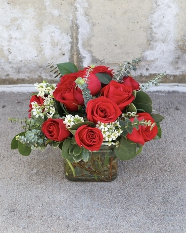 Modern Rose Arrangement