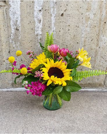 You Are My Sunshine Flower Arrangement