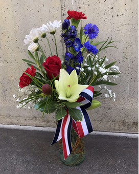 Freedom Flower Arrangement