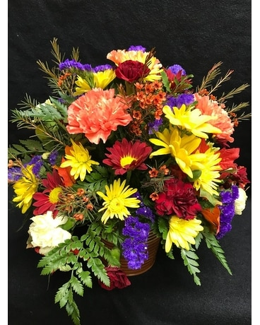 FALL GATHERING Flower Arrangement