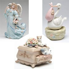 Reno's Florals Musical Figurines