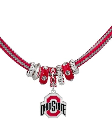 Ohio State Rope Necklace $25.00 Gifts