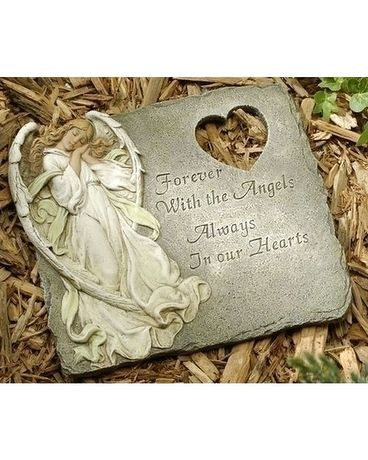 Memorial Stepping Stone $35.00 Gifts