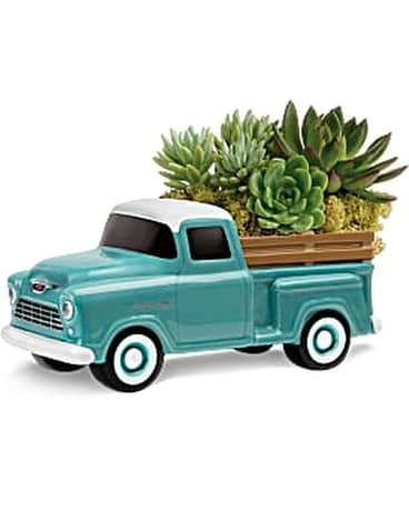 Perfect Chevy Pickup by Teleflora Flower Arrangement