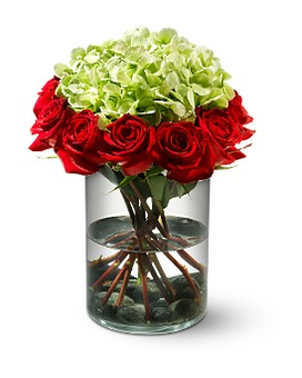 Ring of Fire Flower Arrangement