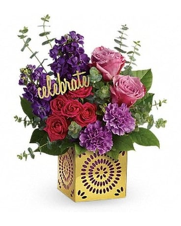 Teleflora's Thrilled For You Flower Arrangement