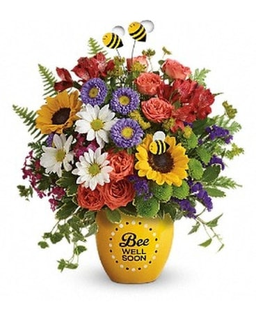 Teleflora's Garden Of Wellness Bouquet DX Flower Arrangement