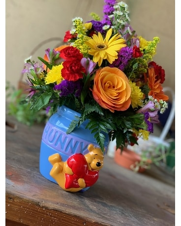 Hunny Pot Flower Arrangement