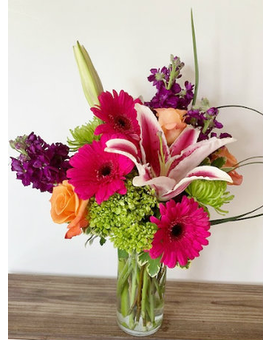 Vibrant Beauty Flower Arrangement