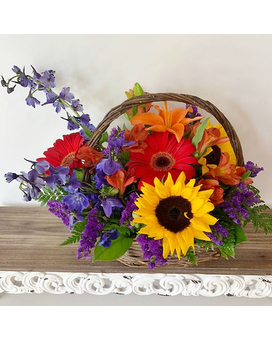 Nashville Farmers Market Flower Arrangement