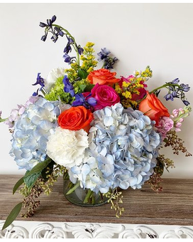 Cottage Garden Flower Arrangement