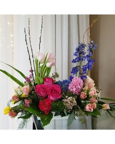 Lovely Spring Flower Arrangement