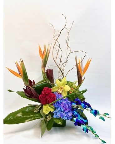 Paradise Garden Flower Arrangement