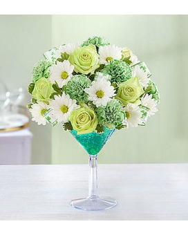 Green Dublin Martini by 1800flowers
