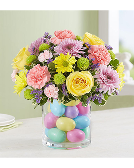 Easter Egg-Stravaganza from 1800flowers Flower Arrangement