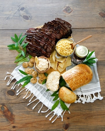 BBQ Brisket Smokehouse Dinner Gift Basket
