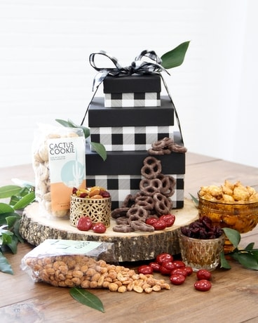 The Sweetheart of Texas Tower Gift Basket